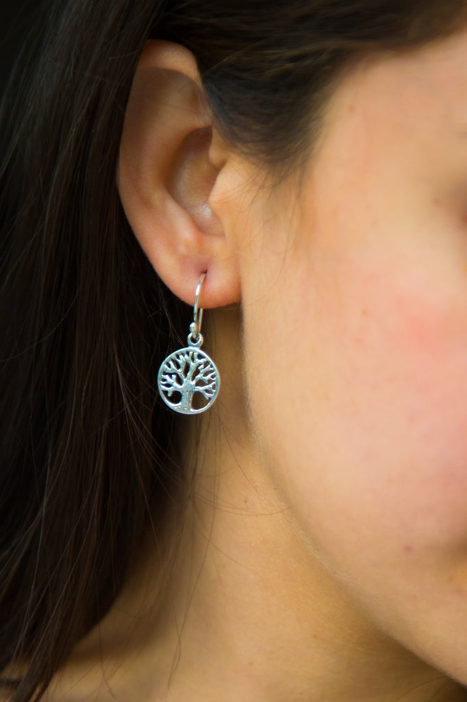 Intricate Tree Of Life Earrings