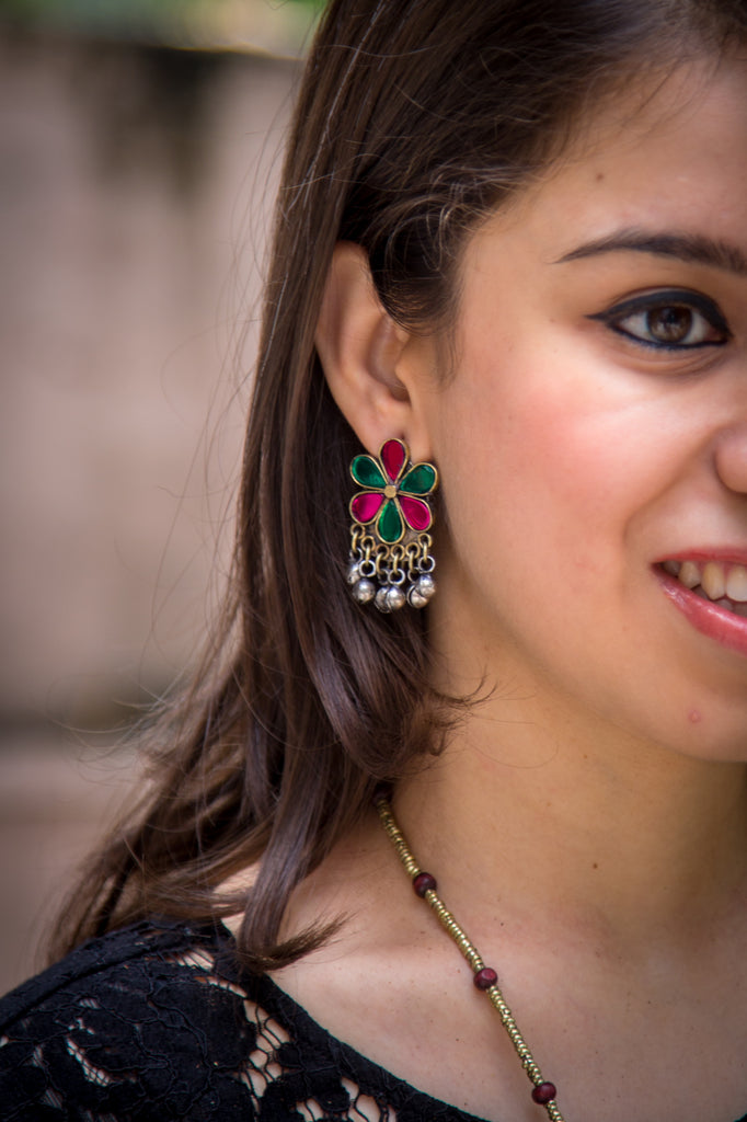 Cute Afghani Earrings