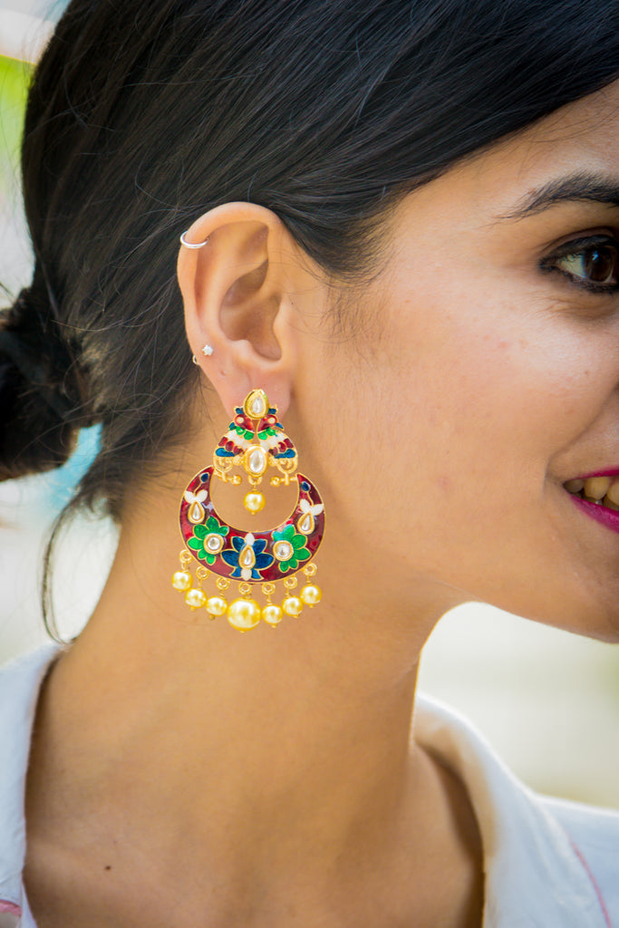Ashcharya Earrings