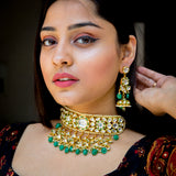 Shaan-E-Gulzar Kundan Necklace Set