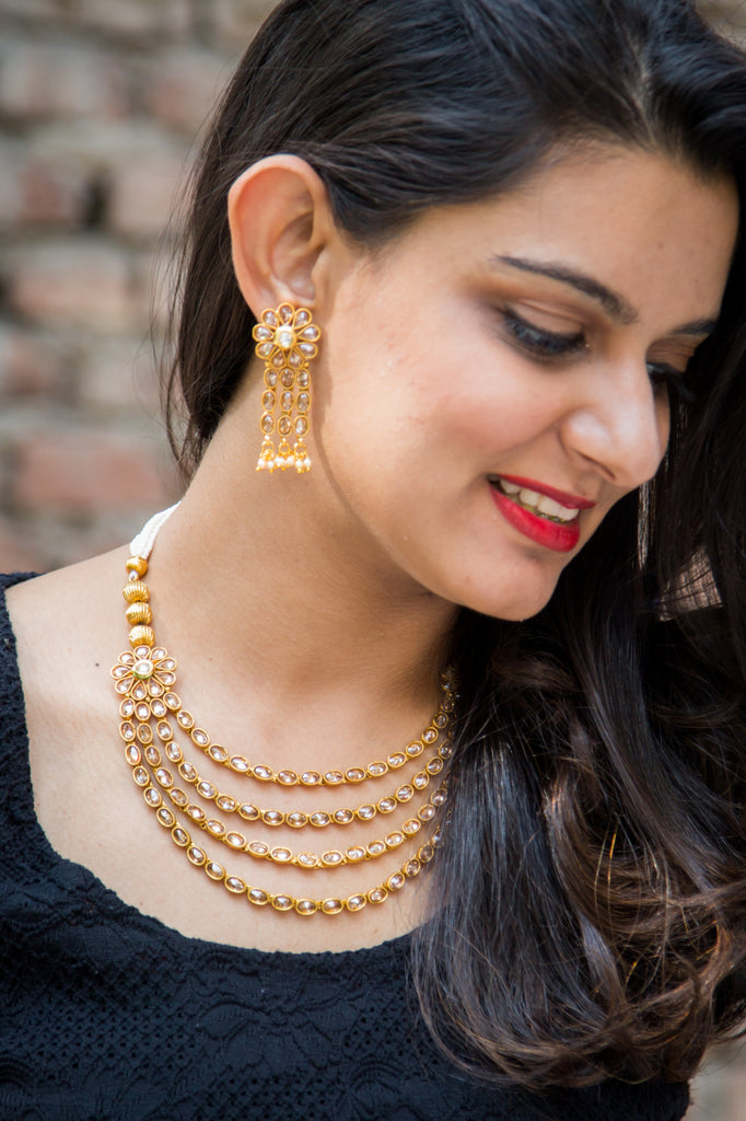 Sathya Necklace Set
