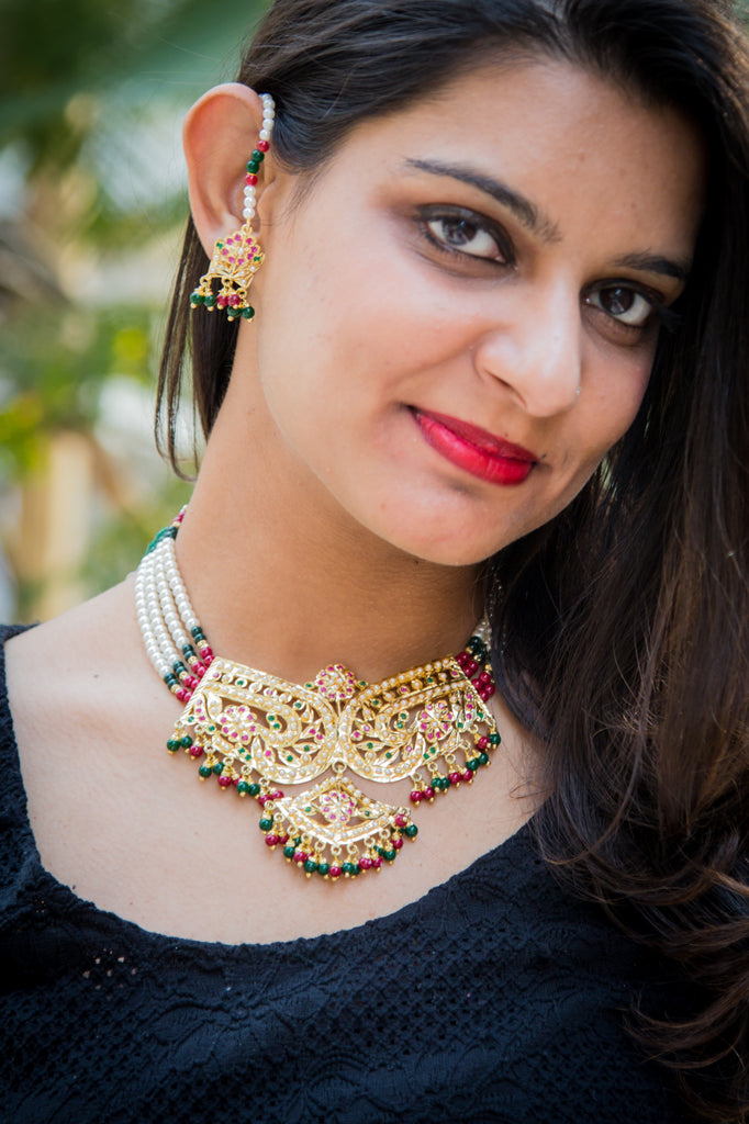 Gandhali Necklace Set