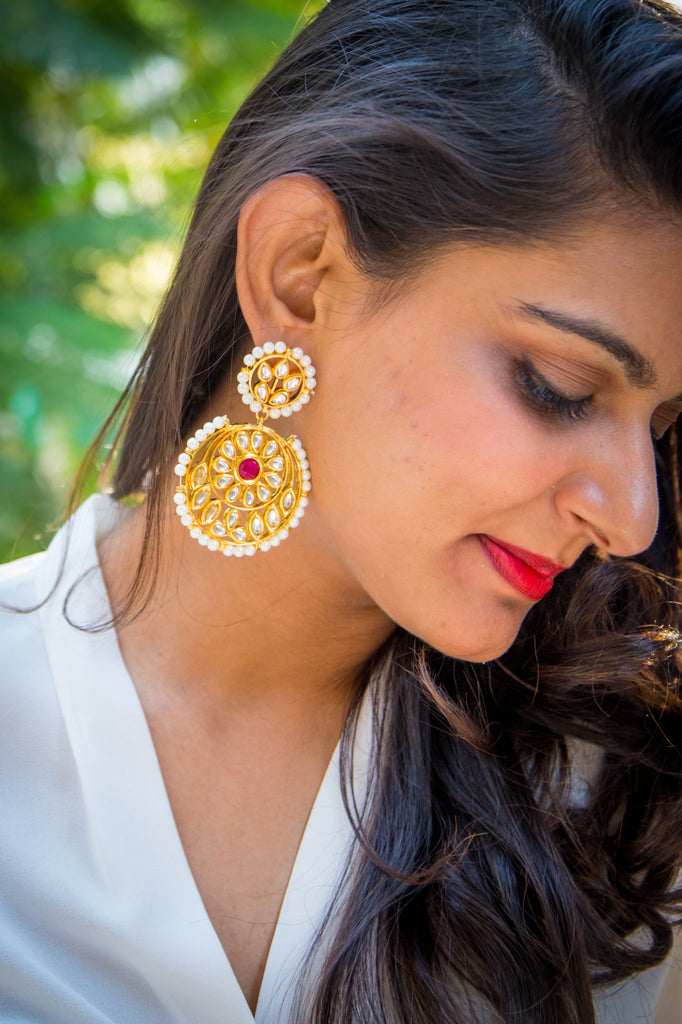 Abhirami Earrings
