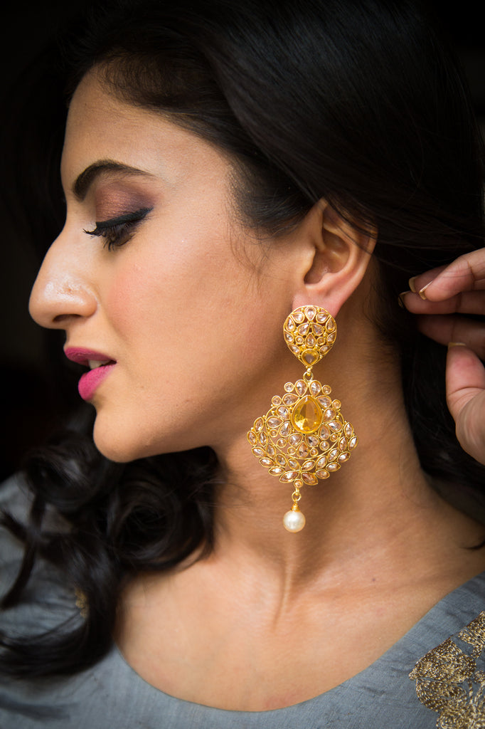 Bhagavathi Earrings