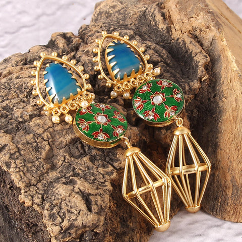 Aguapanela Earrings
