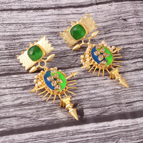 agkshata earrings