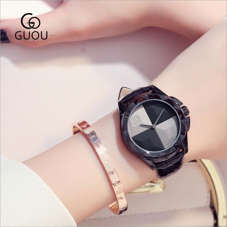 Beauty Of Black Wrist Watch