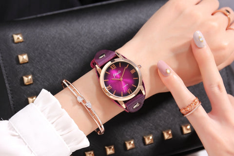 Purple Niche Wrist Watch