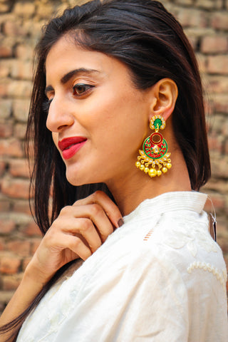 Drishya Earrings