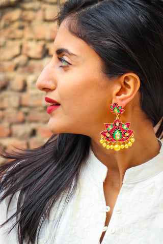Gul-e-Bahaar Earrings
