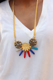 Paint It Statement Necklace