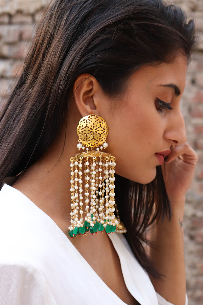 Big Chandelier Earrings