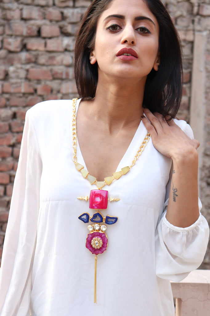 Mod Statement Necklace