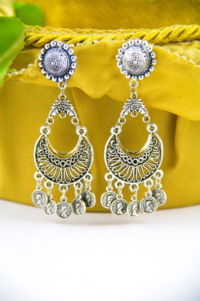 The Disc Of Victoria Earrings
