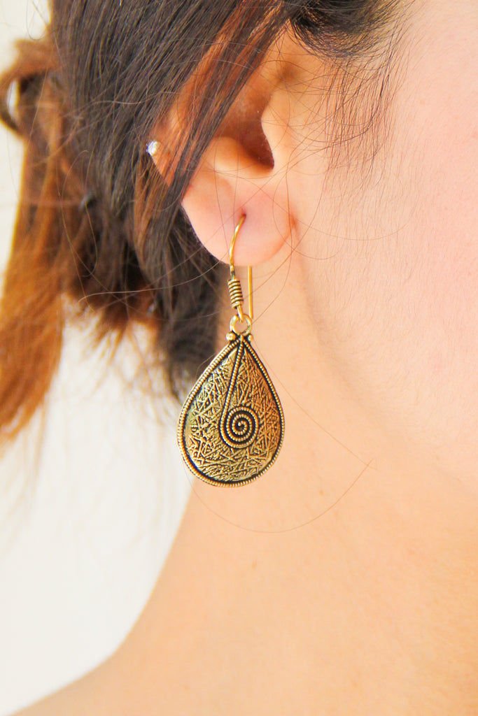 Paan Drop Earrings