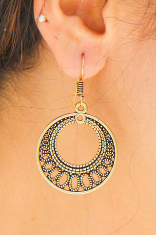 Circle Of Thought Earrings