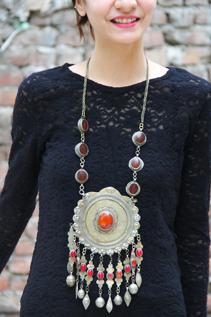 80 Year Old Vintage Turkmani Necklace