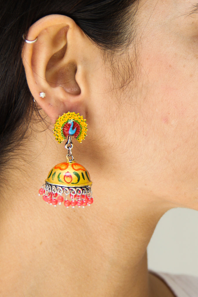 Peela Mor Earrings