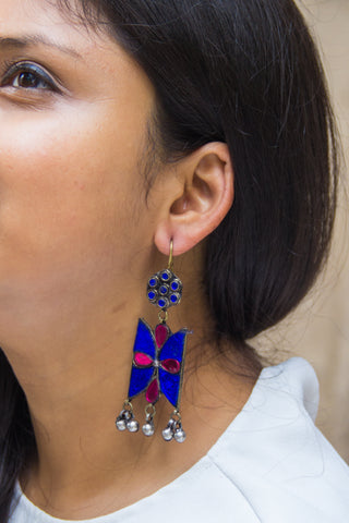 Afghani Butterfly Earrings