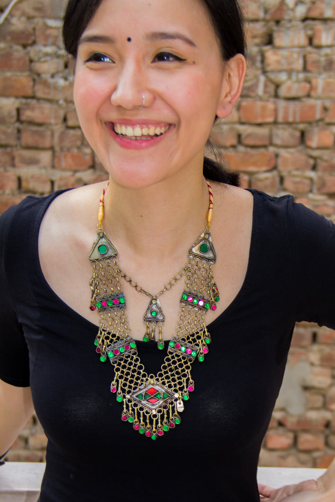 Adila Afghani Necklace
