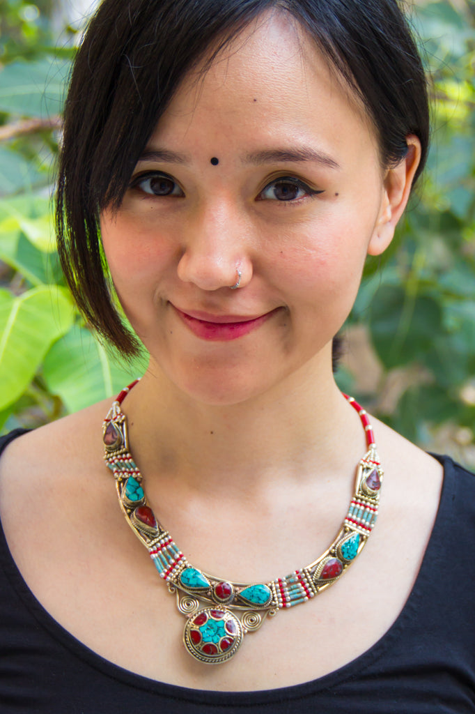 Ahshaja Nepali Necklace