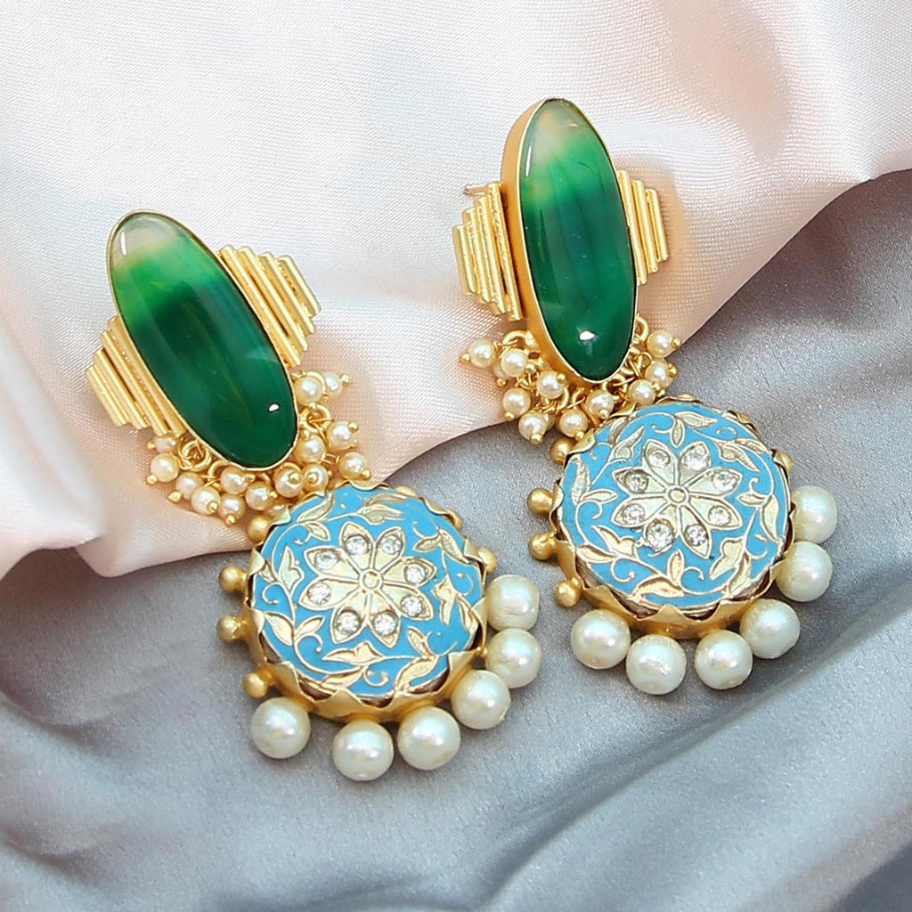 Akrylik Earrings