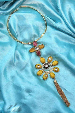 Tazumi Statement Necklace