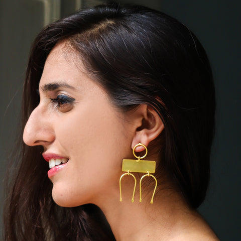 Secunda Minimalist Earrings