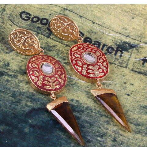 Hajar Earrings