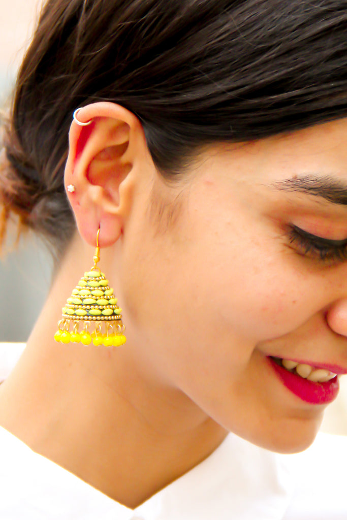 Hello Yellow Earrings