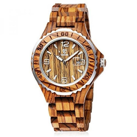 Real Bamboo Luxury Watch