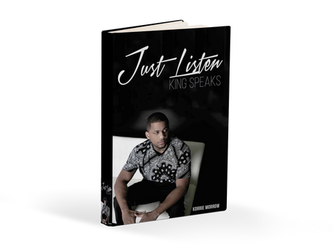 SIGNED COPY OF JUST LISTEN KING SPEAKS