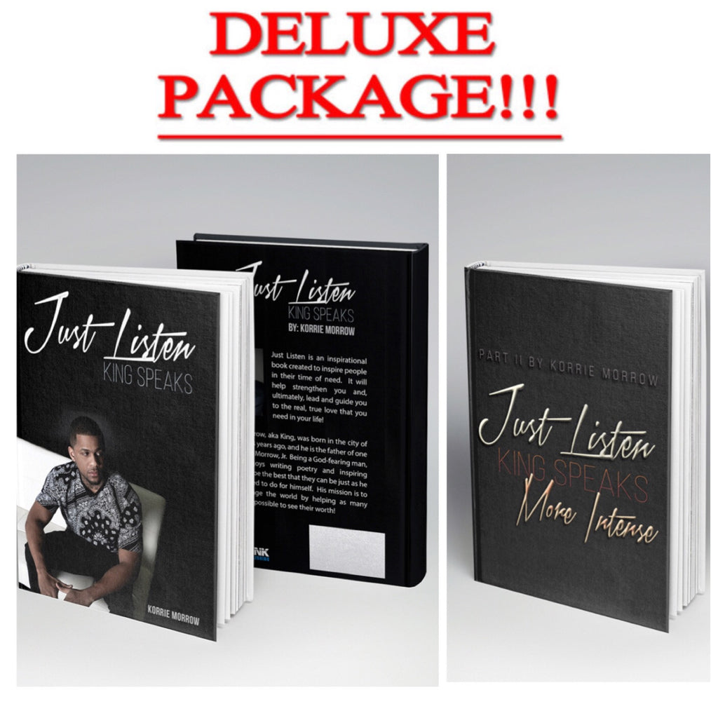 DELUXE PACKAGE JUST LISTEN 1&2