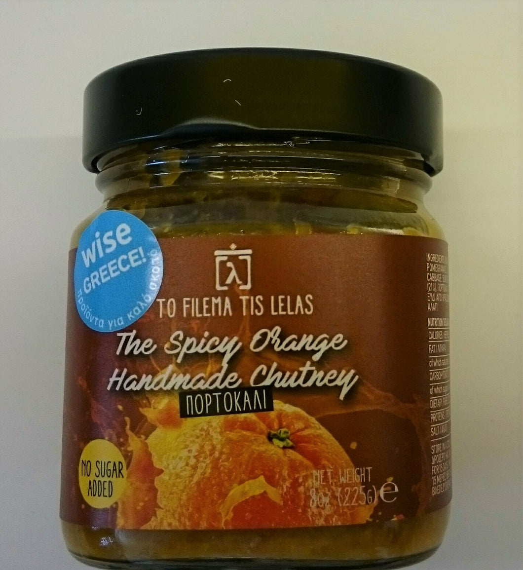 chutney spicy orange