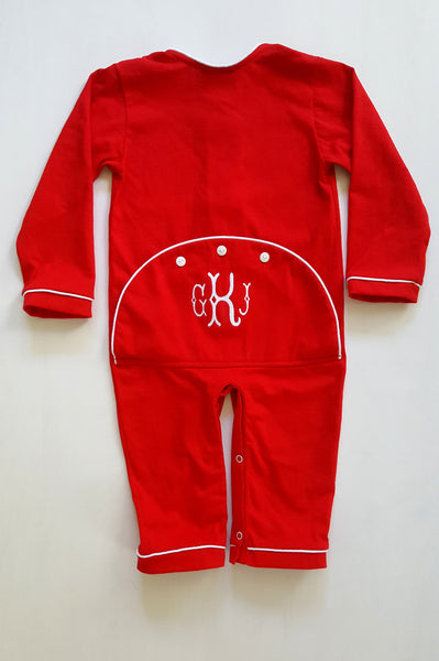 *IMPERFECT* Boys Dropseat Christmas Jammies