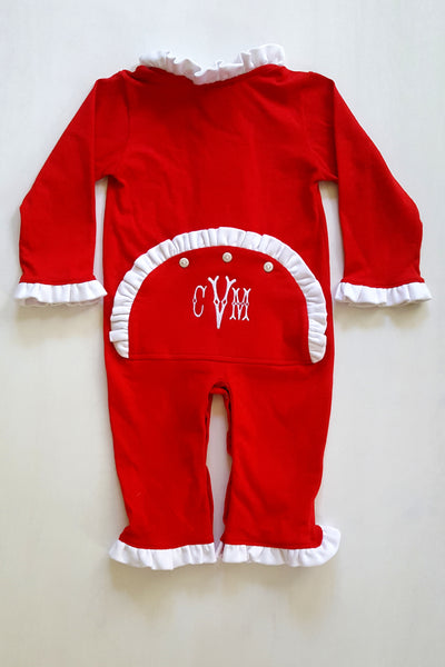 Girls Dropseat Christmas Jammies