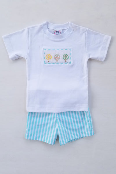 Up & Away Boys Shorts Set