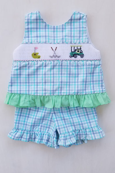 Fairway Golf Girls Shorts Set