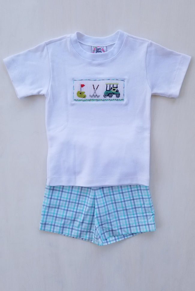 Fairway Golf Boys Shorts Set