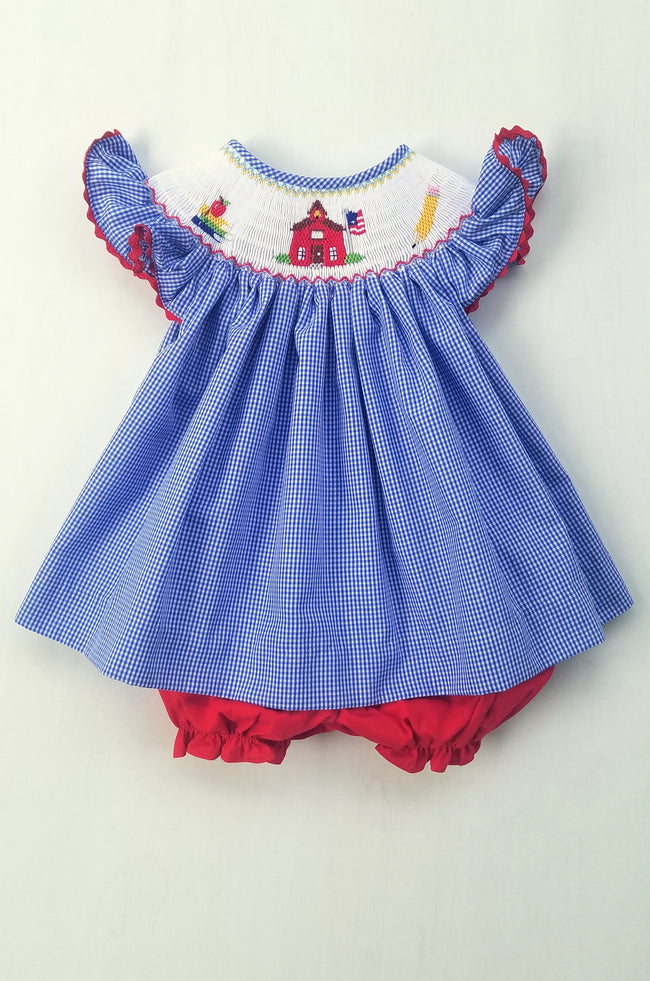Little Red Schoolhouse Bloomer Set