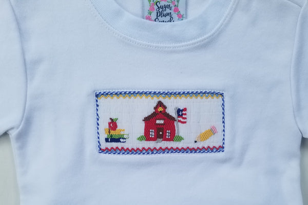 Little Red Schoolhouse Boys SHIRT ONLY Size 3t
