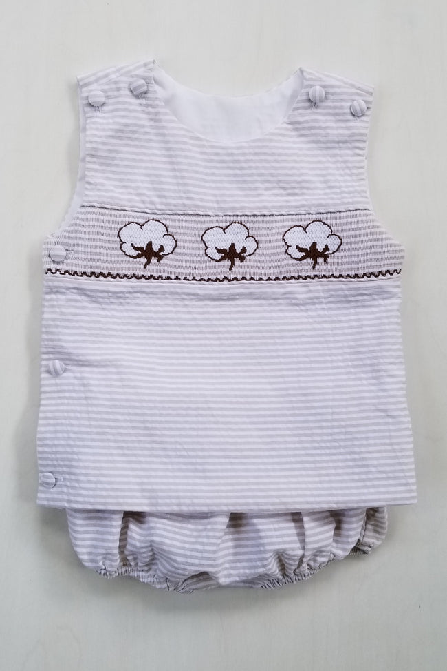 Cotton Bolls Boys Diaper Set