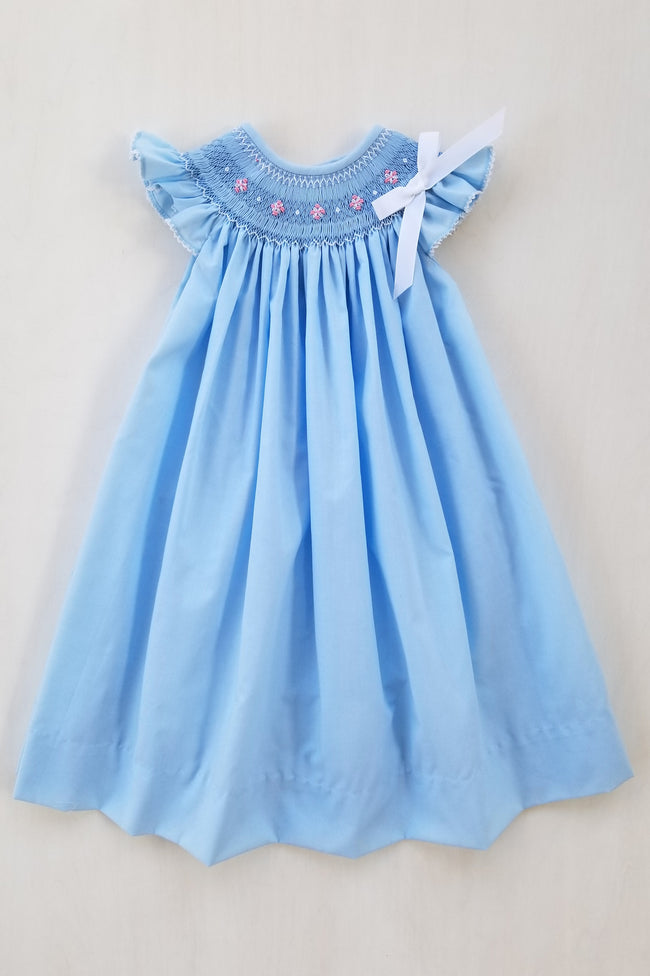 Baby Blues Bishop Dress