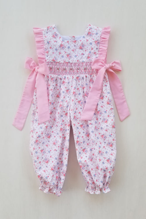 Pretty in Pink Side Tie Romper