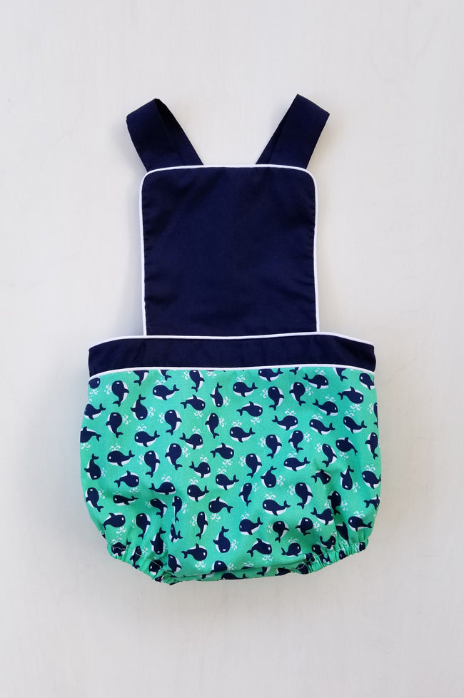 Whaley Cute Unisex Sunsuit