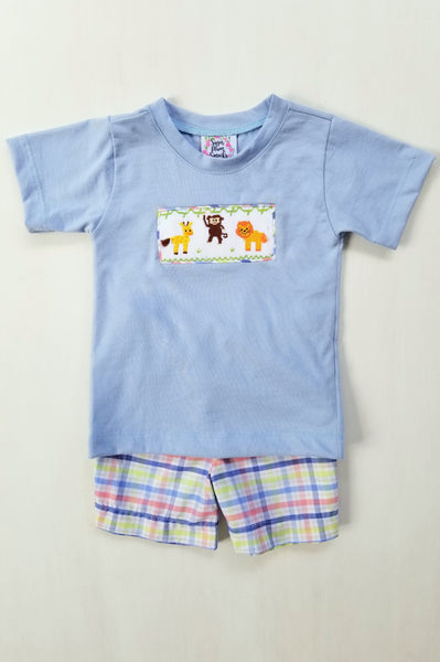 To the Zoo Boys Shorts Set