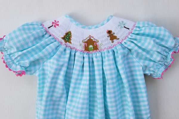 Gingerbread Ruffle Pants Set