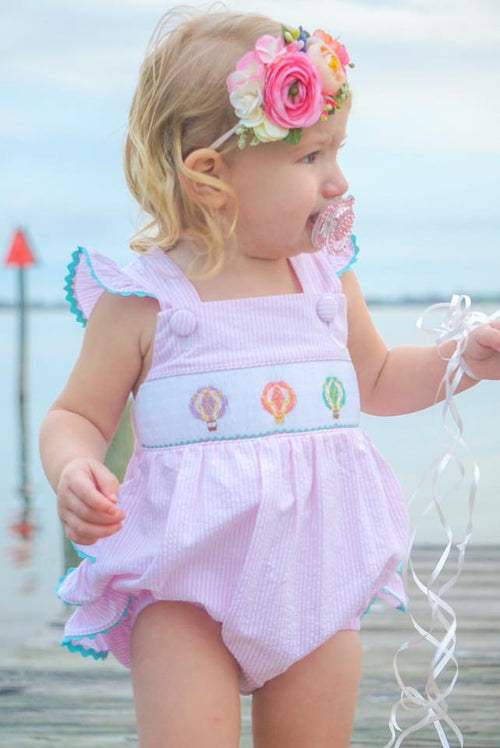 Up & Away Girls Ruffle Bubble