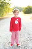 Old Saint Nick Applique Shirt