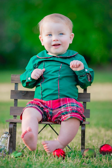 Cotton Bolls Boys Shorts Set